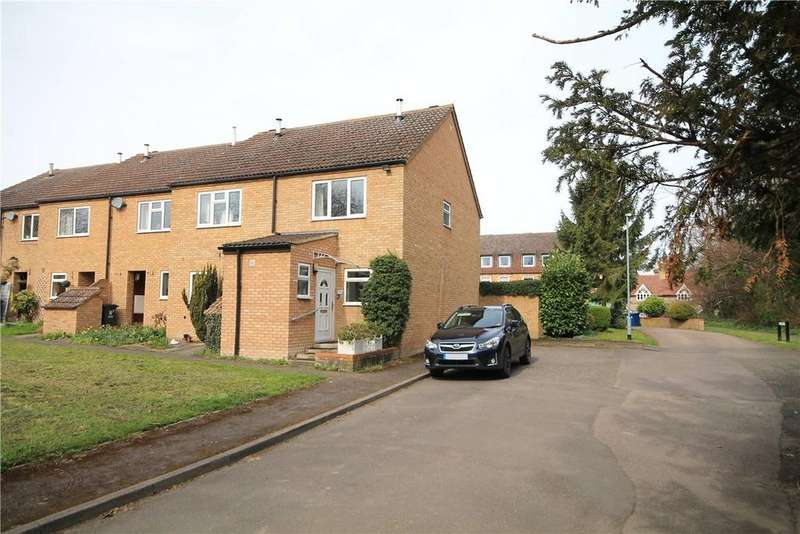 2 Bedrooms End Of Terrace House for sale in Jacksons Way, Fowlmere, Royston, Herts, SG8