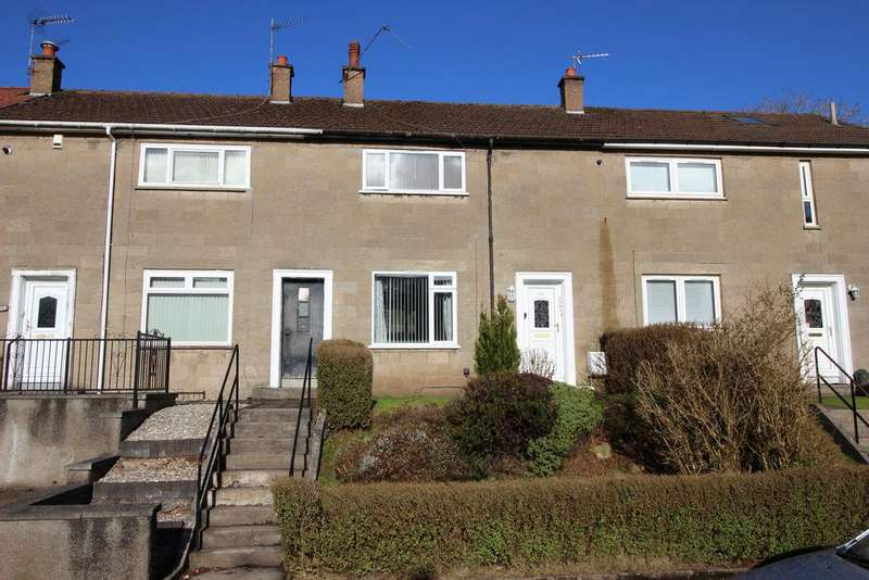 2 Bedrooms Terraced House for sale in 112 Craigs Avenue, Faifley, G81 5LH