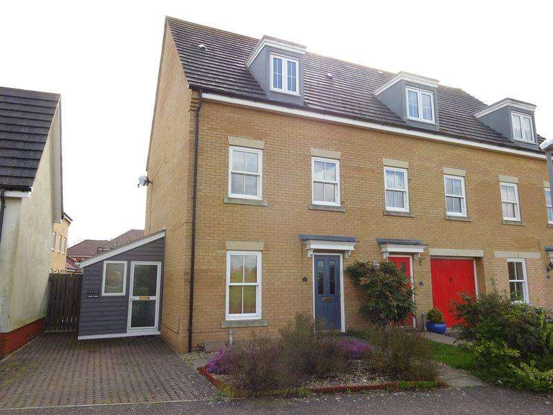 4 Bedrooms Town House for sale in Windsor Park Gardens, Old Catton, Norwich