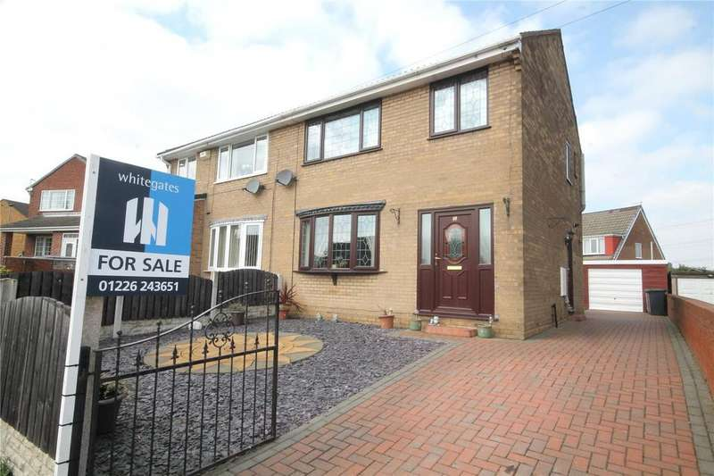 3 Bedrooms Semi Detached House for sale in Woodroyd Avenue, Carlton, Barnsley, S71