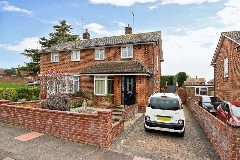 2 Bedrooms Semi Detached House for sale in Ivydore Avenue, Worthing