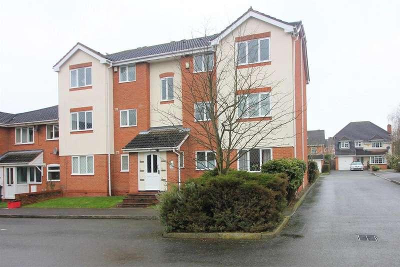 2 Bedrooms Apartment Flat for sale in Aspen Close, Measham,