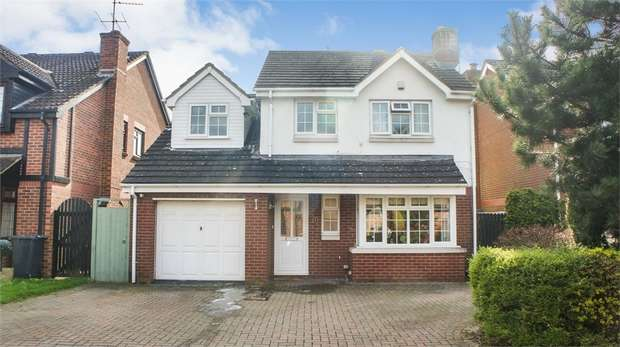 4 Bedrooms Detached House for sale in Grayling Close, Abbeymead, Gloucester