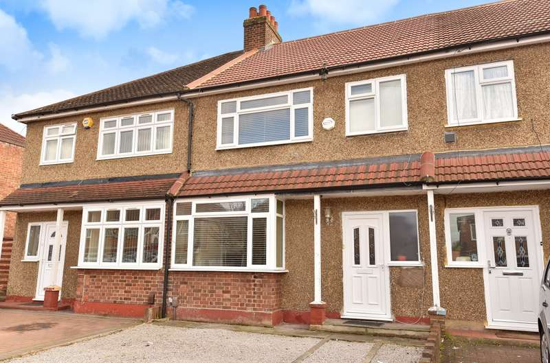 3 Bedrooms Terraced House for sale in Baber Drive, Feltham, TW14