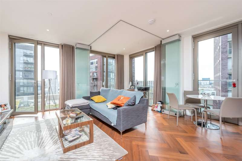 1 Bedroom Apartment Flat for sale in Capital Building, Embassy Gardens, New Union Square, London, SW11