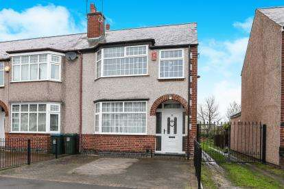 3 Bedrooms End Of Terrace House for sale in Wyver Crescent, Copeswood, Coventry, West Midlands
