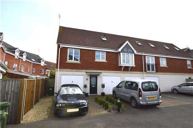 3 Bedrooms Semi Detached House for sale in Siskin Drive, CHELTENHAM, Gloucestershire, GL51 0WW