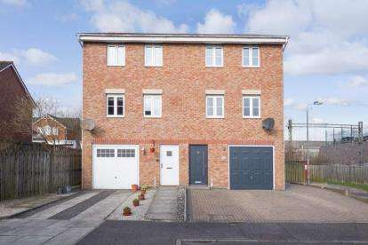 4 Bedrooms Semi Detached House for sale in Brodie Grove, Baillieston, Glasgow, Lanarkshire