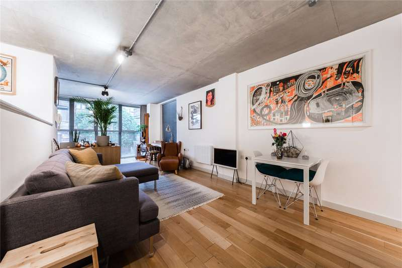1 Bedroom Flat for sale in Lutheran Mews, 57-59 Dalston Lane, E8