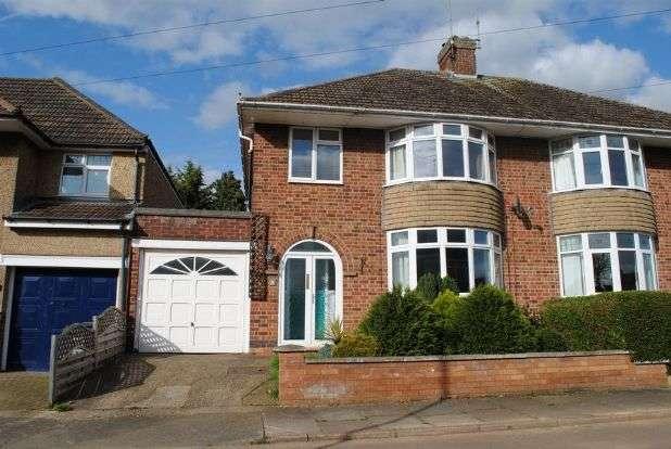 3 Bedrooms Semi Detached House for sale in Barons Way, Kingsthorpe Village, Northampton NN2 8HP