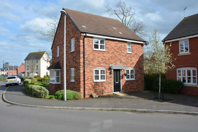 3 Bedrooms Detached House for sale in Teeswater Close, Long Lawford