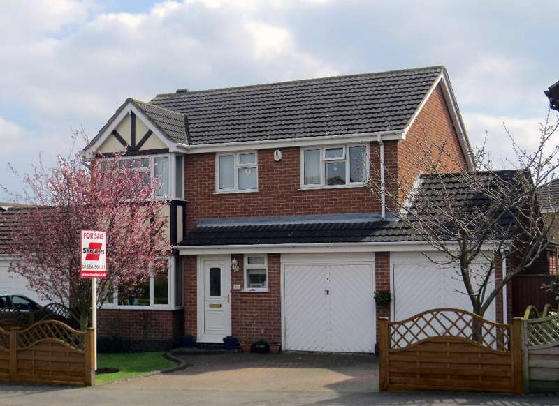 4 Bedrooms Detached House for sale in Wymondham Way Melton Mowbray