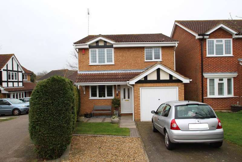 3 Bedrooms Detached House for sale in Houghton Place, Rushmere St Andrew, Ipswich, IP4