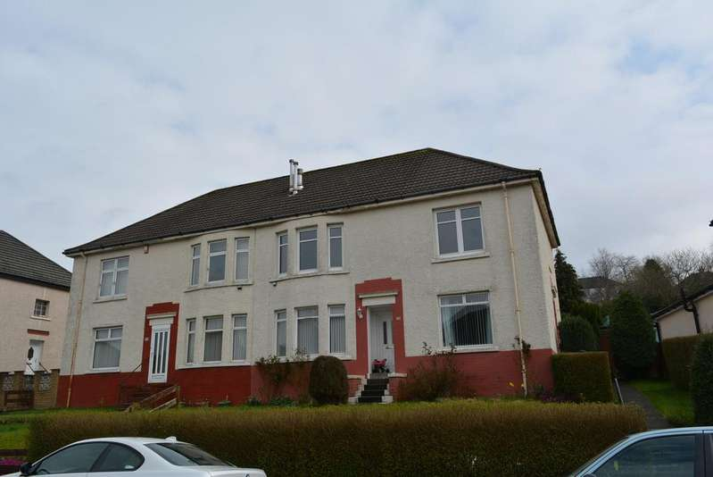 2 Bedrooms Flat for sale in 34 Turret Road, Knightswood, Glasgow, G13 2HH