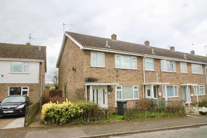3 Bedrooms End Of Terrace House for sale in Tithe Avenue, Beck Row