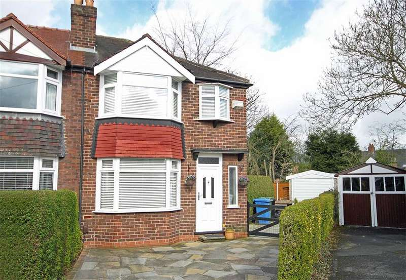 3 Bedrooms Semi Detached House for sale in Fairfax Avenue, Timperley, Cheshire