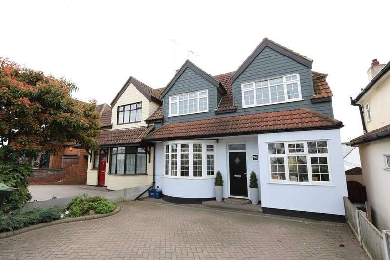 4 Bedrooms Semi Detached House for sale in Rayleigh Road, Eastwood SS9