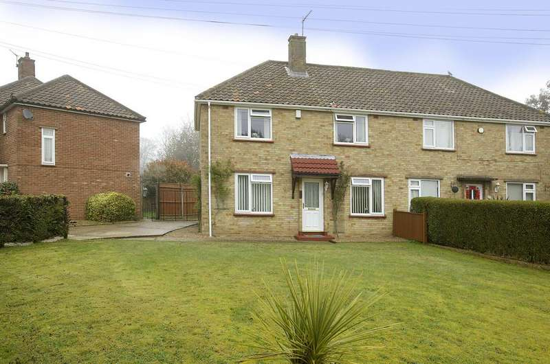3 Bedrooms Semi Detached House for sale in Bluebell Road, Norwich