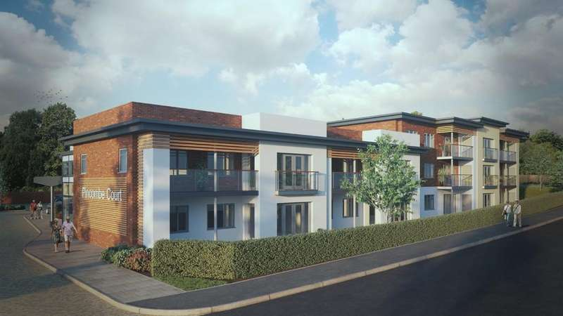 2 Bedrooms Apartment Flat for sale in Buckingham Close, Exmouth
