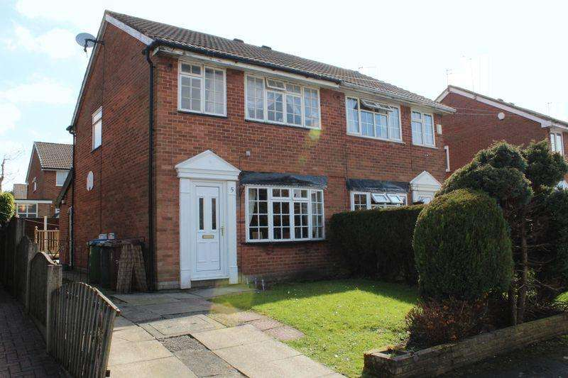 3 Bedrooms Semi Detached House for sale in Bealcroft Close, Milnrow, Rochdale, OL16 3XD