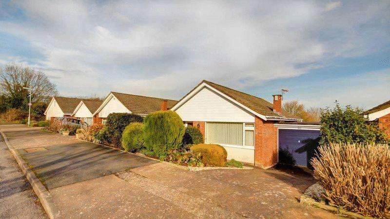 2 Bedrooms Detached Bungalow for sale in Nadder Park Road, Exeter