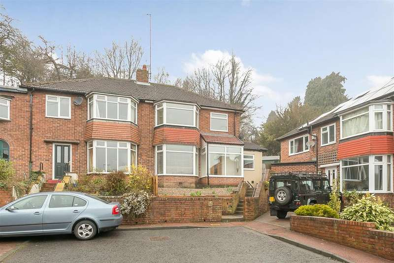 3 Bedrooms Semi Detached House for sale in Craghall Dene Avenue, South Gosforth, Newcastle upon Tyne