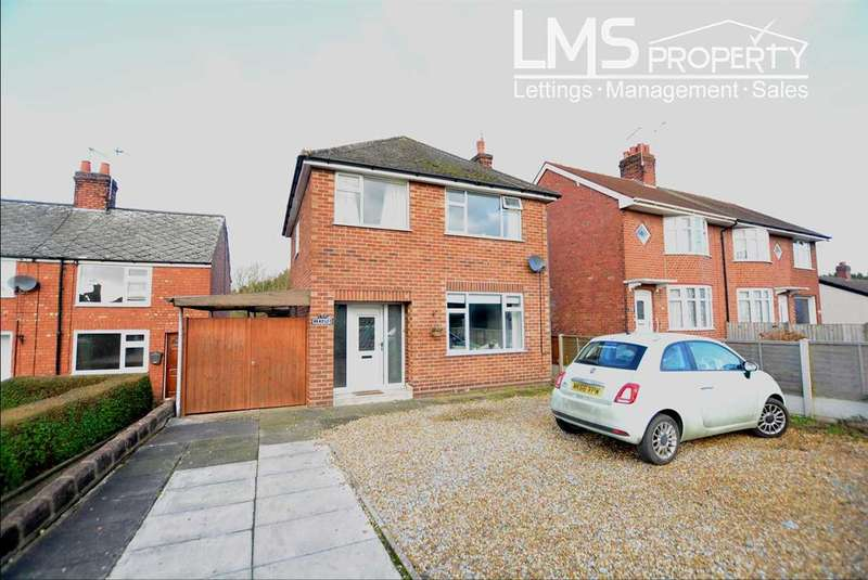 3 Bedrooms Detached House for sale in Middlewich Road, Winsford