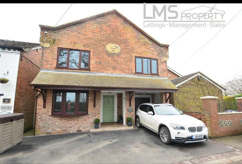4 Bedrooms Detached House for sale in Chantry House, Winsford Road, Wettenhall