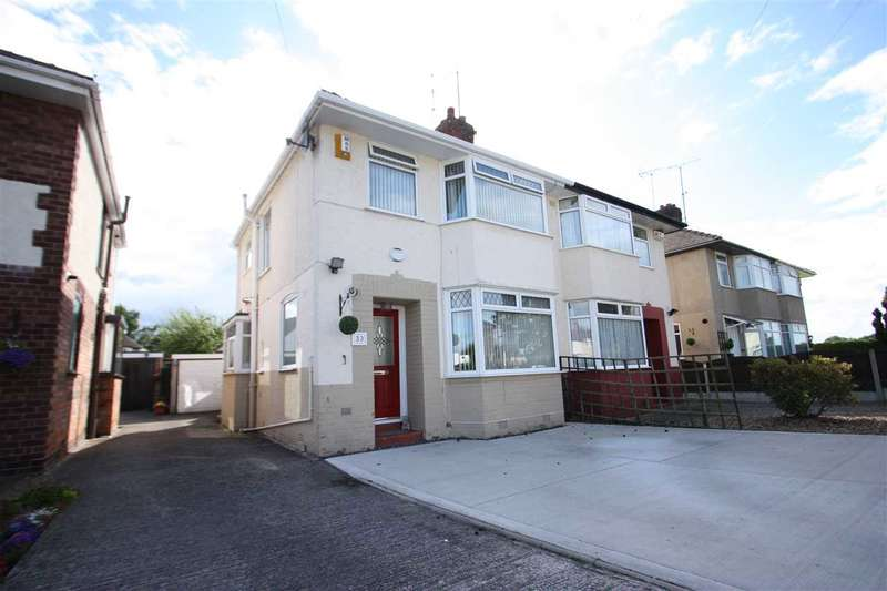 3 Bedrooms Semi Detached House for sale in Mansfield Road, Whitby, Ellesmere Port