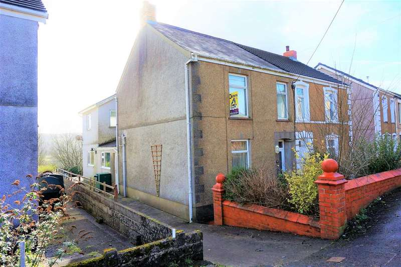 4 Bedrooms Semi Detached House for sale in Greenfield Terrace, PONTYBEREM, Llanelli