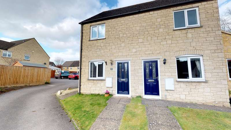2 Bedrooms Semi Detached House for sale in Barrington Close, Witney OX28