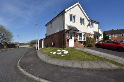 3 Bedrooms Semi Detached House for sale in Bankside, Blackburn, Lancashire
