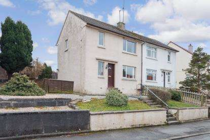 2 Bedrooms Semi Detached House for sale in Corsehill Crescent, Coylton