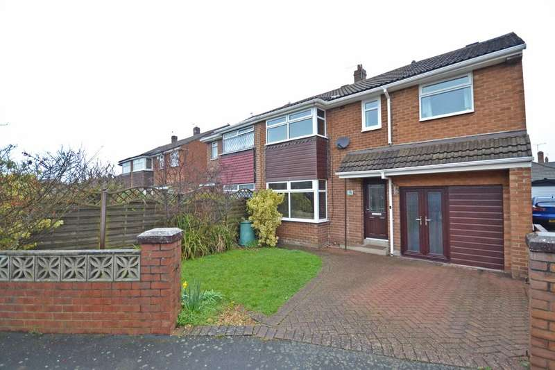 4 Bedrooms Semi Detached House for sale in Thornes Moor Avenue, Thornes, Wakefield