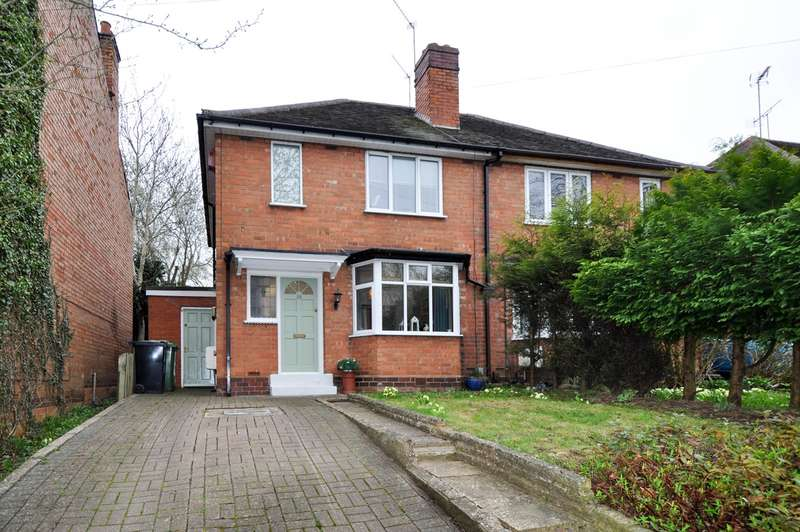 2 Bedrooms Semi Detached House for sale in Clive Road, Redditch, B97