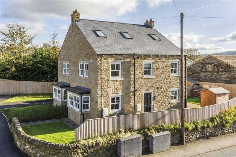 3 Bedrooms Semi Detached House for sale in Old Corn Mill Fold, Silsden, Keighley, West Yorkshire