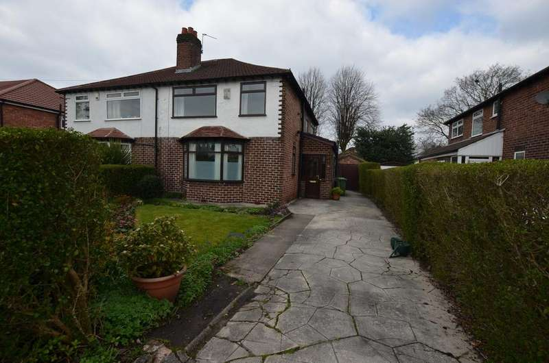 3 Bedrooms Semi Detached House for sale in Greenway Road, Timperley WA15