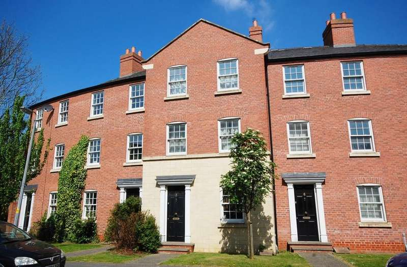 4 Bedrooms Town House for sale in The Old Dairy Yard, Thames Street, Louth, LN11