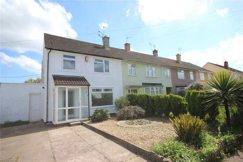 3 Bedrooms End Of Terrace House for sale in Lyppincourt Road, Bristol, BS10