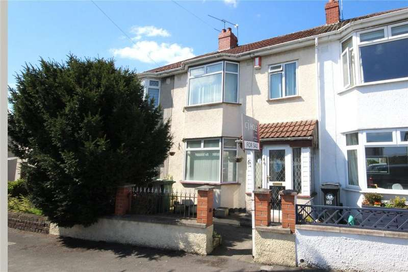 3 Bedrooms Terraced House for sale in Southmead Road, Westbury-on-Trym, Bristol, BS10