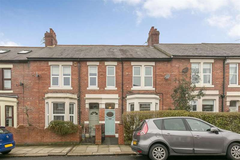 3 Bedrooms Terraced House for sale in Beaumont Terrace, Gosforth, Newcastle upon Tyne