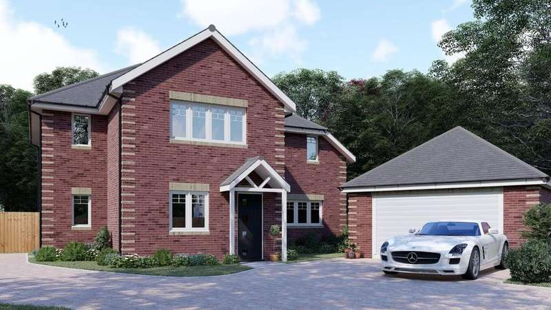 4 Bedrooms Detached House for sale in Maple Gardens, Sandy Lane