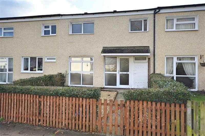 3 Bedrooms Terraced House for sale in 184, Lon Derw, Trehafren, Newtown, Powys, SY16