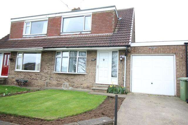 3 Bedrooms Semi Detached Bungalow for sale in 87 Southfield Lane Whitwell Worksop