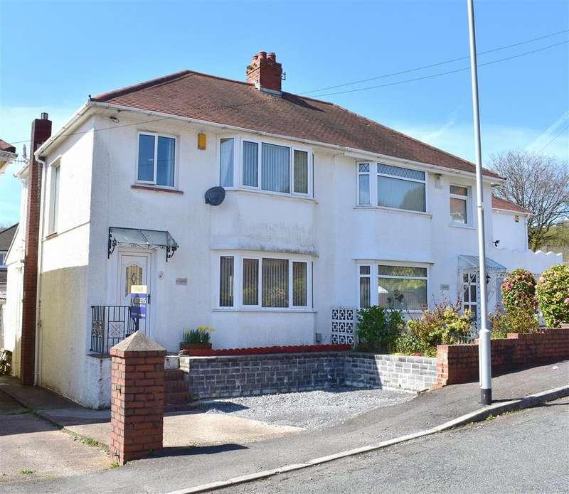 3 Bedrooms Semi Detached House for sale in Peniel Road, Treboeth, Swansea