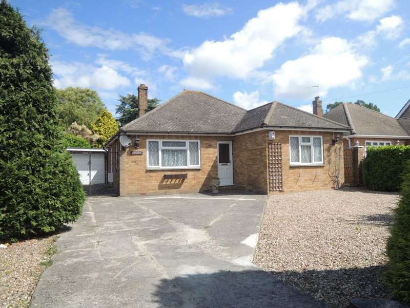 3 Bedrooms Detached Bungalow for sale in Rush Green Road, Clacton-on-Sea