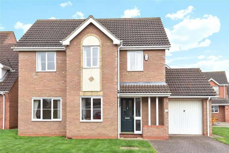 3 Bedrooms Detached House for sale in Vasey Close, Saxilby, LN1