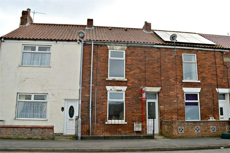 2 Bedrooms Terraced House for sale in Jubilee Avenue, Barrow Road, New Holland, North Lincs, DN19