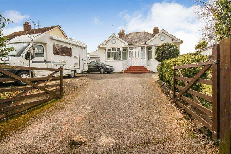 3 Bedrooms Detached Bungalow for sale in Newton Road, Torquay