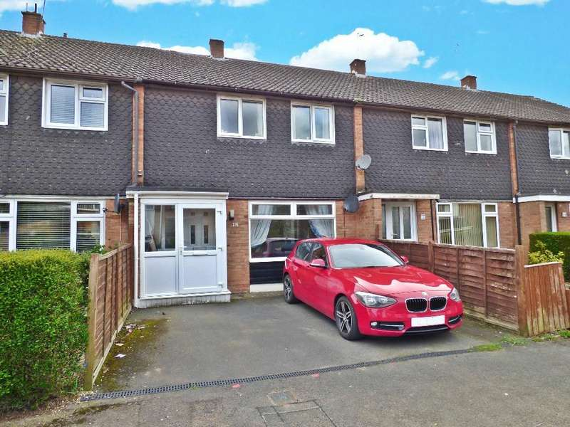 3 Bedrooms Terraced House for sale in Pigott Close, Tupsley, Hereford